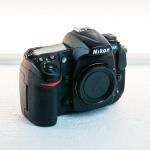 Nikon D300 body 1 front