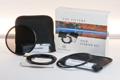 Lee Filters (excluding polariser & filter ring already sold but still pictured)
