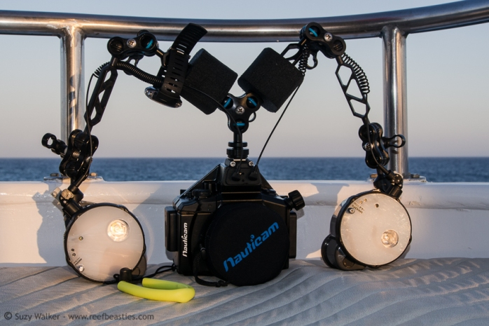 Olympus OMD in Nauticam Housing