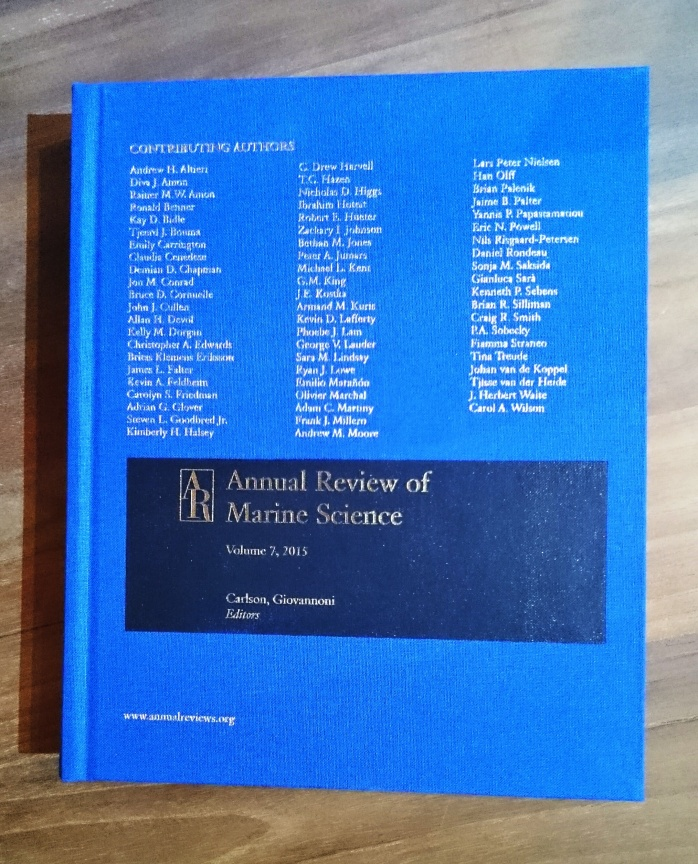 Annual Review of Marina Science vol 7